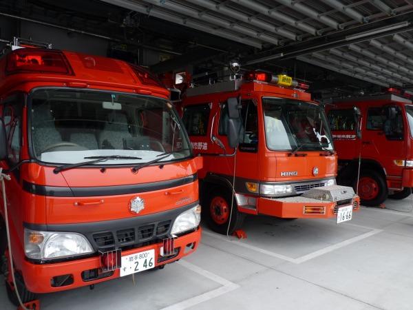 【午前】最新鋭設備を誇る遠野消防署